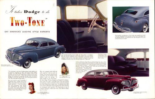1941 Dodge Two-Tones