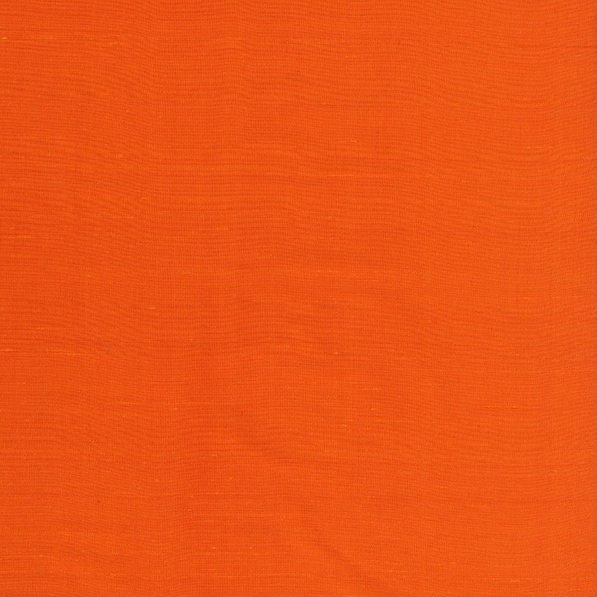Anichini Fabrics Sitara Brights Orange Residential Fabric An Orange Dupioni Silk Fabric
