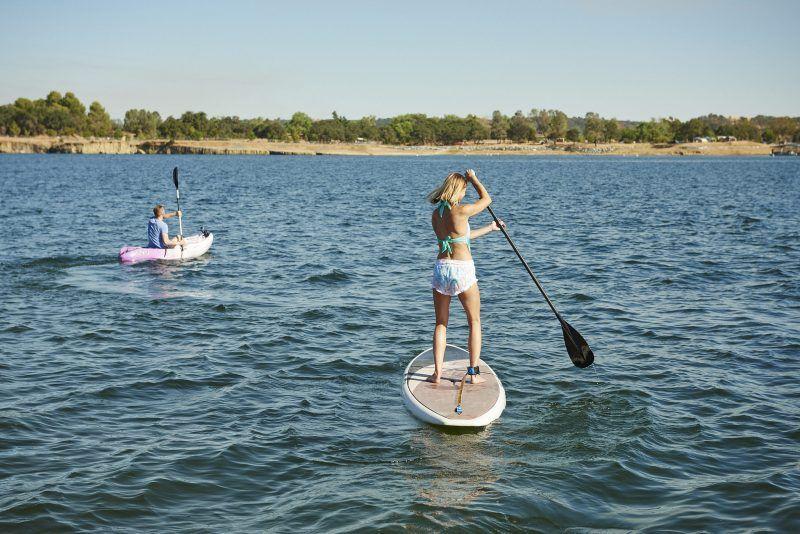 Lake camanche paddleboard rental boat rental party barge