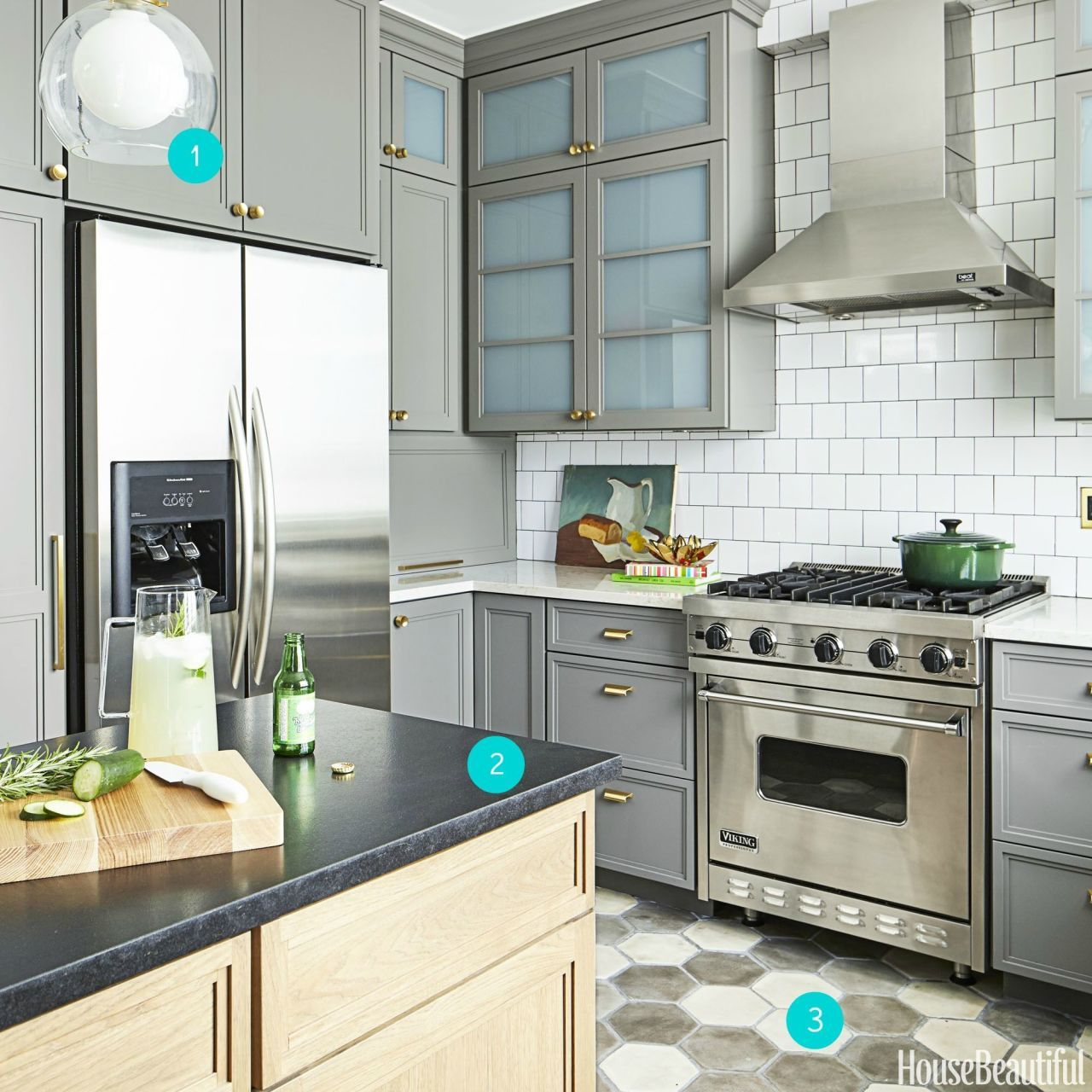 Kitchen Impossible Idee: A Chicago Kitchen In A Muted Palette