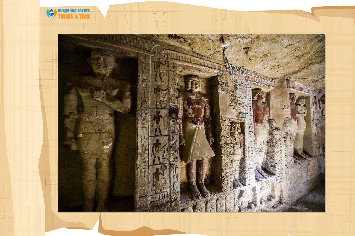 مقبرة تي تاريخ انشاء مصطبة الوزير تي أحد اهم نبلاء الاسرة الخامسة في سقارة الجيزة مصر القديمة Egypt Travel Egypt Painting