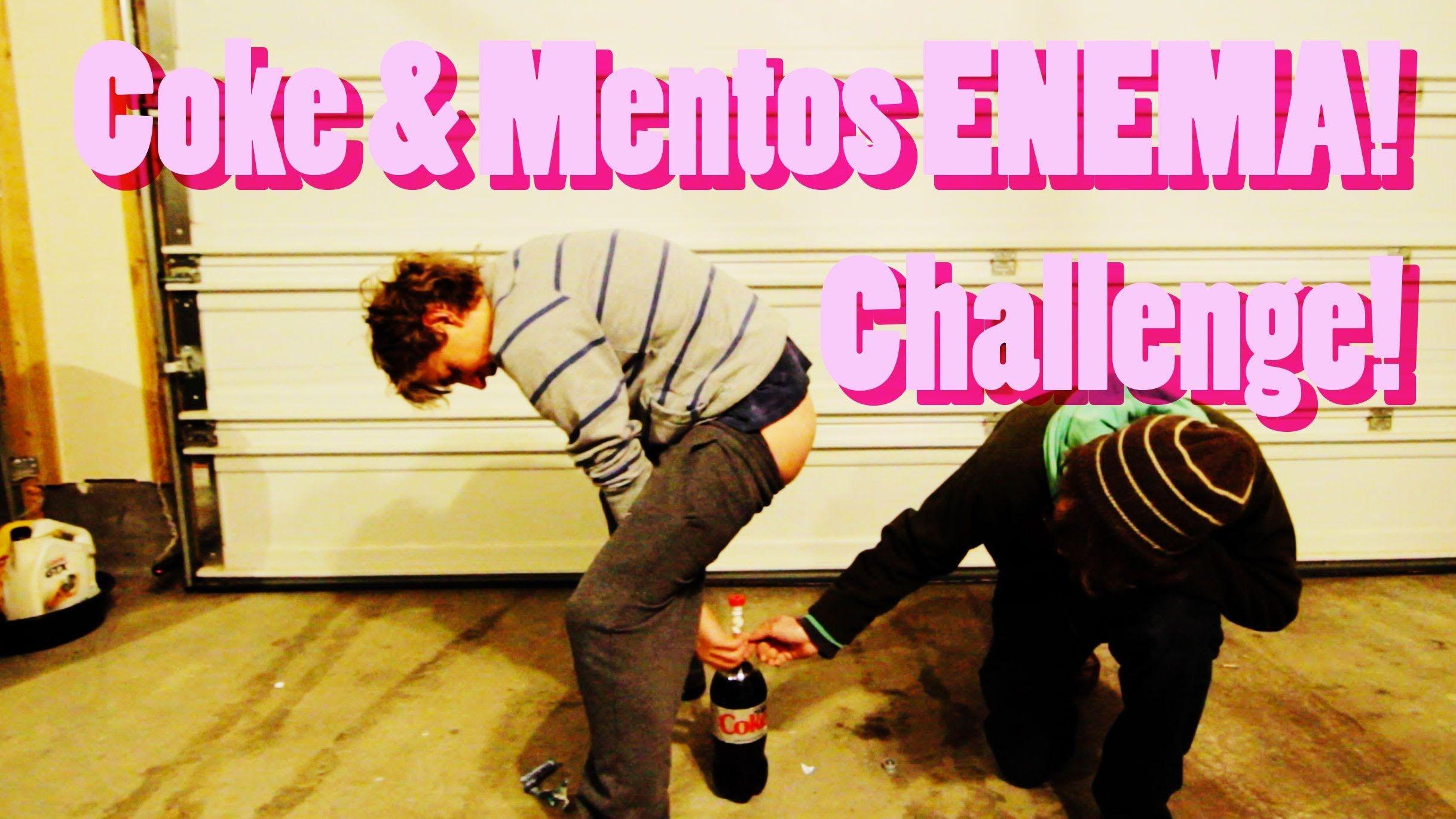 Diet Coke and Mentos Enema Challenge
