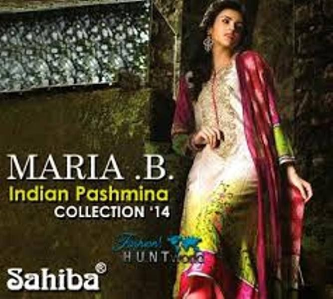 Maria B Linen Women Dresses Collection 2015-16 (4)