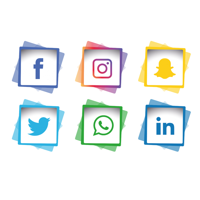 Social Media Icons Set, Social Media Icons, Icons, Social