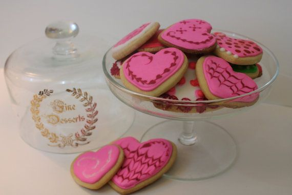 Gourmet Royal Sugar Cookies 12pc Hand Decorated by CakeSuccessCo