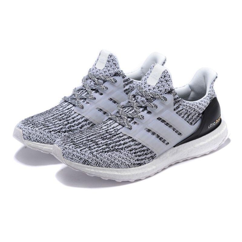 Oberlo Adidas UltraBOOST Men's Running Shoes ,Light Grey