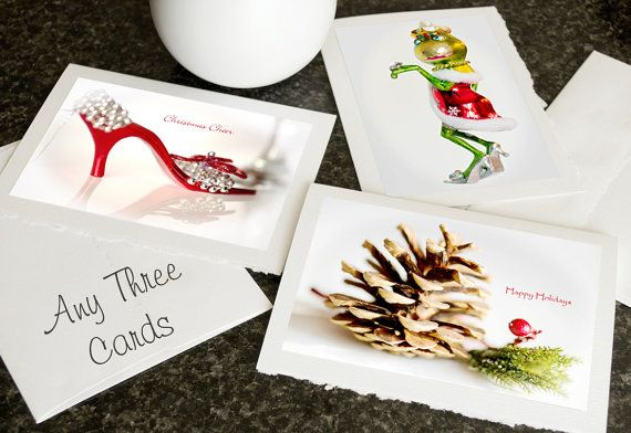 CARDS Flower Collection, Butterfly, Wildlife, Christmas Photo