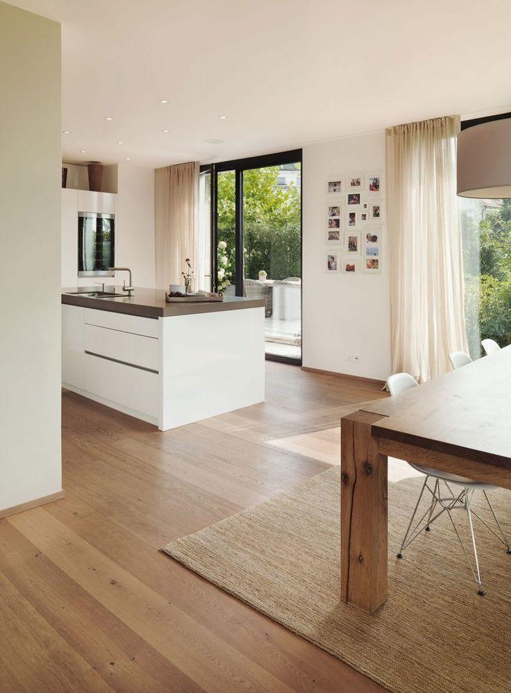 Meier Architekten Design a luminous contemporary house in Uitikon, Switzerland - curtains-ideas3.tk | Curtains Ideas 2018 #contemporarykitcheninterior