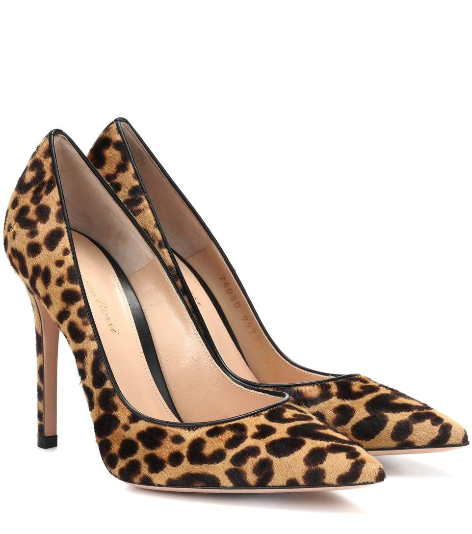 Gianvito Rossi 105 leopard-print pumps kj7H2