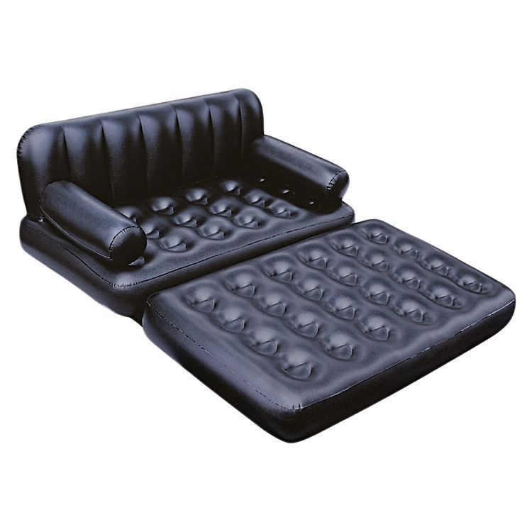 Lossie Inflatable Sofa Bed Black By Resort Living Sofa Bed