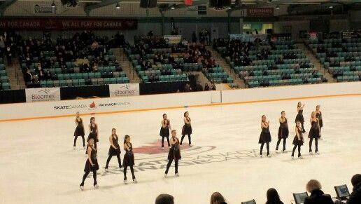 Canadian Synchronized Skating Championships 2016 Intermediate