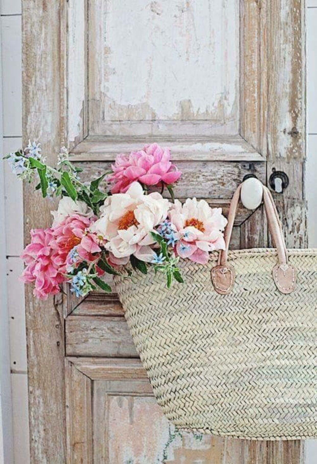 French Market Basket Market baskets, Flower arrangements
