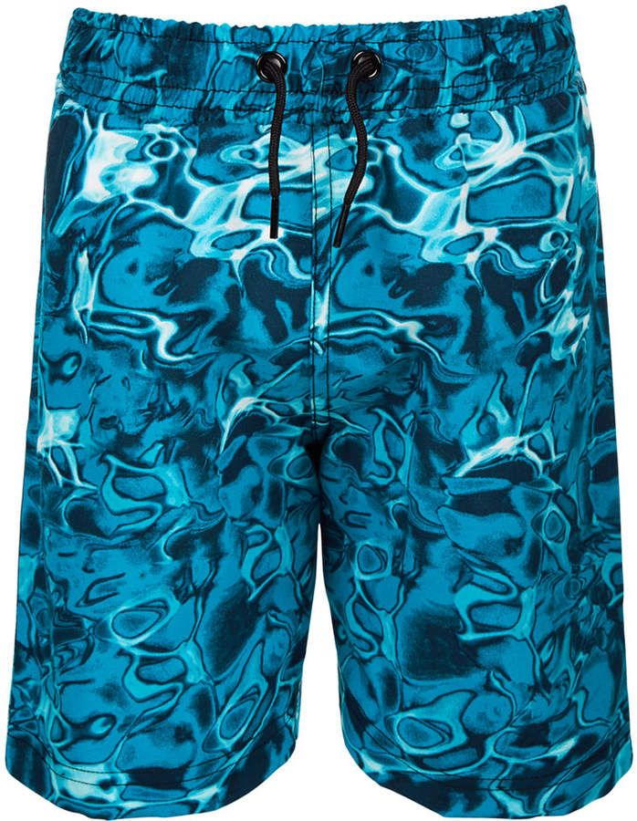 0a7e5d482ac59 Little Boys Ocean-Print Swim Trunks, Created for Macy's in 2019 ...