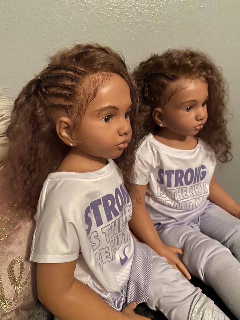 Sandy Haired Aloenka Twins Etsy In 2020 Mixed Girl Hairstyles Baby Hairstyles Little Girl Hairstyles