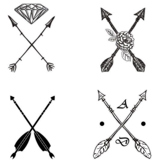 Attractive Arrow Tattoo Designs And Their Symbolism Decoded Arrow Tattoo And Move Forward