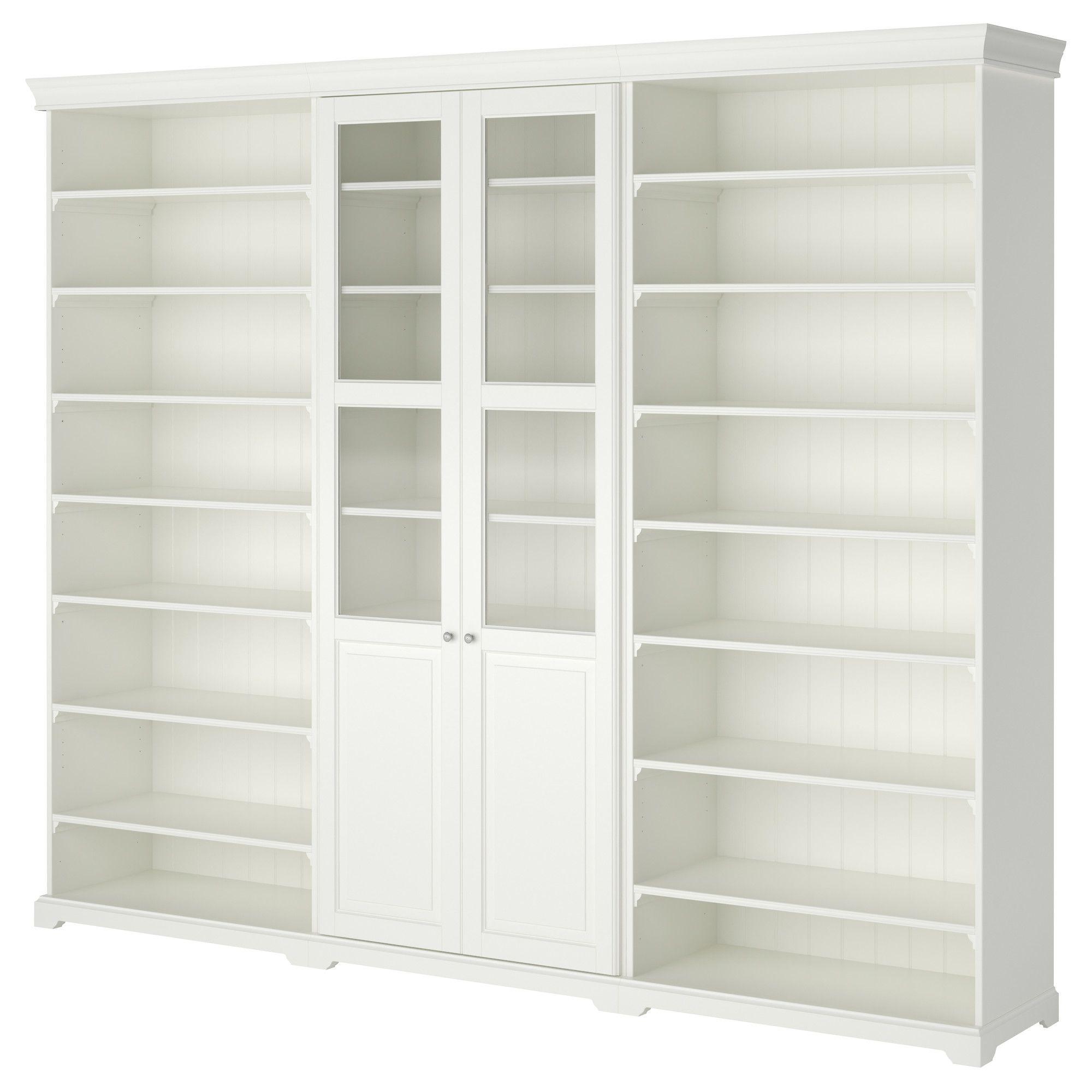 Liatorp storage combination white liatorp ikea craft - Regalwand ikea ...