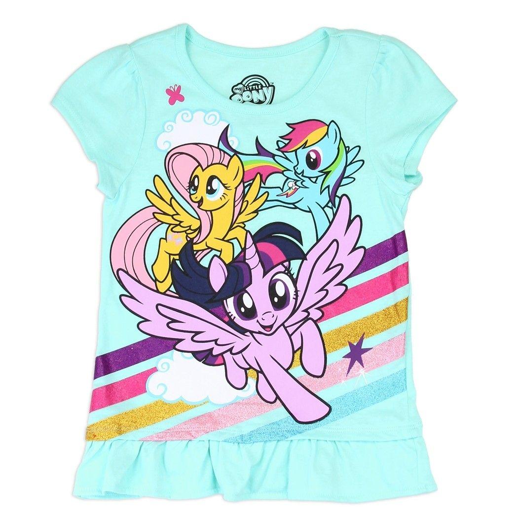 New Girls Kids 3T My Little Pony Rainbow Dash Jacket Zipup Hoodie Fringe Glitter