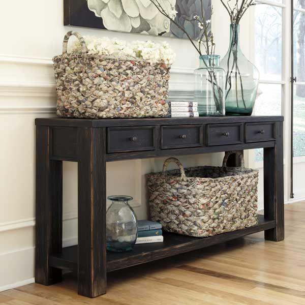 Gavelston Sofa Table Loft American Furniture Warehouse With