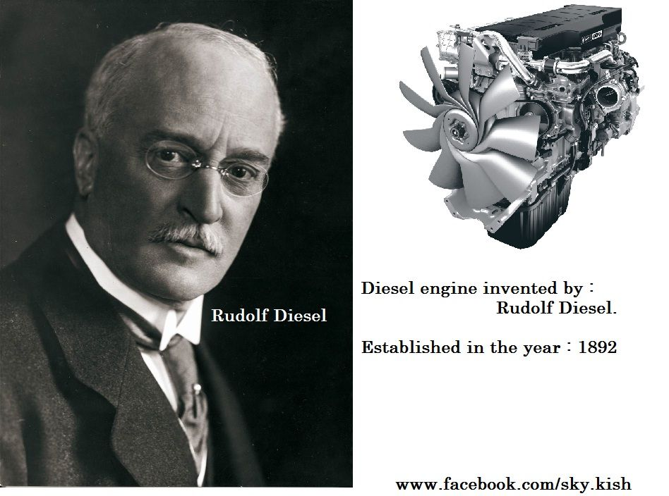 diesel engine invented by rudolf diesel year 1892. Black Bedroom Furniture Sets. Home Design Ideas