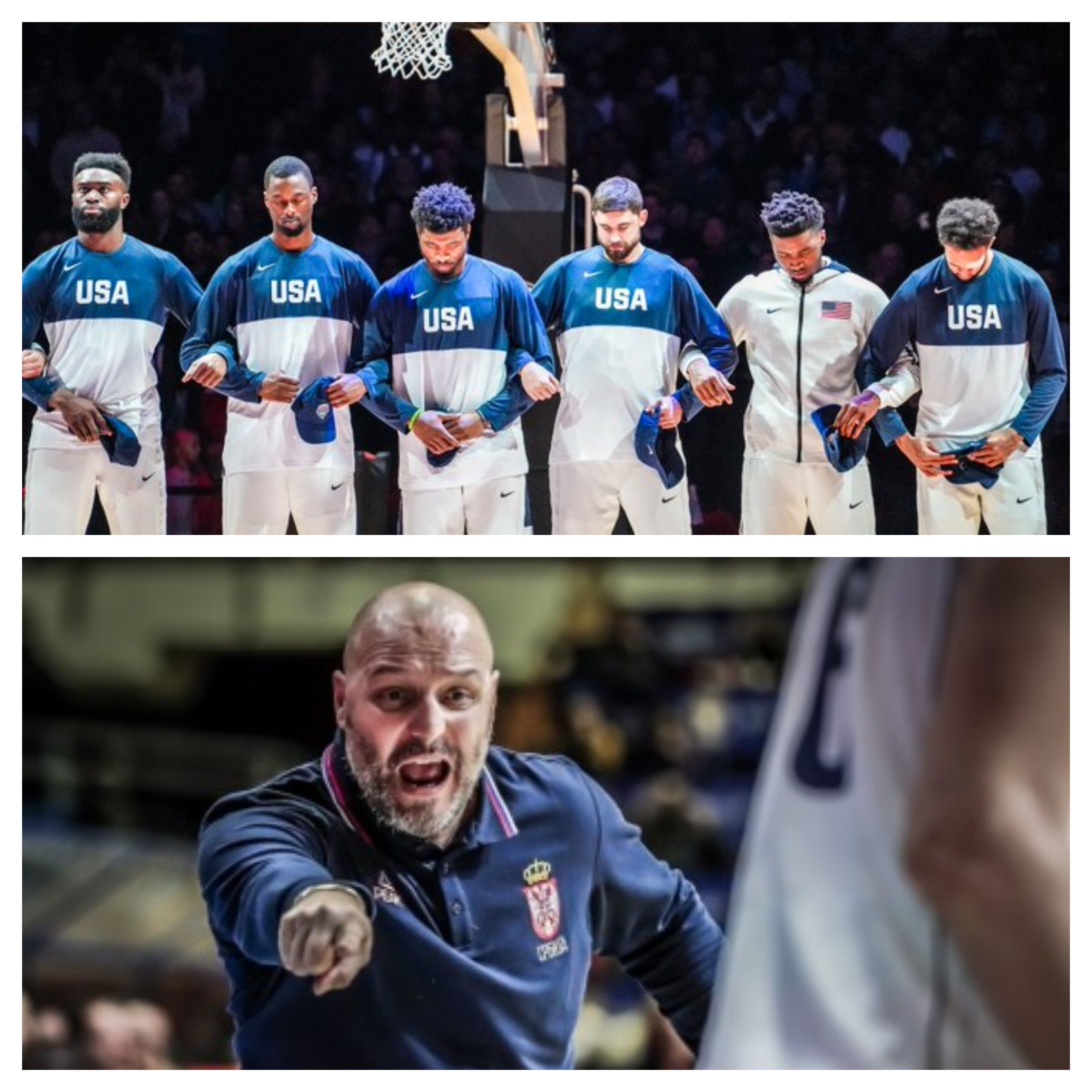 "Serbian coach mad! ""Don't ask me for Team USA again or"