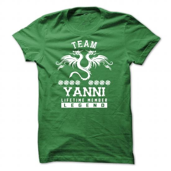 I Love [SPECIAL] YANNI Life time member Shirts & Tees