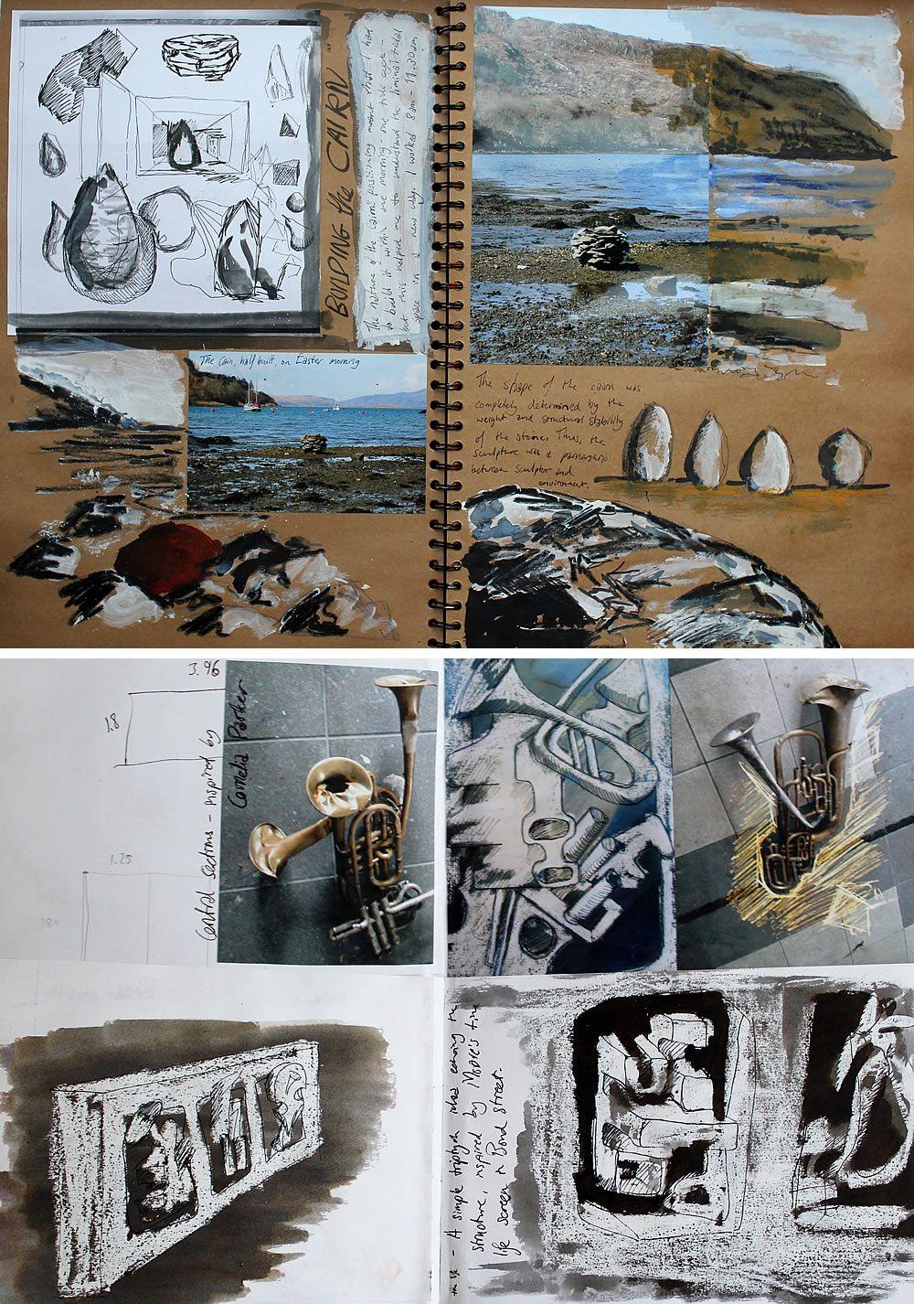 Art Sketchbook Ideas Creative Examples To Inspire High School Students Art Sketchbook Sketch Book Gcse Art Sketchbook