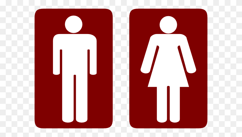 600x415 Restroom Man And Woman Clipart Png For Web Restroom Clipart Clip Art Man Png