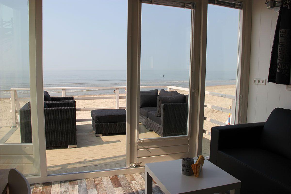 Stranddroom - Slaaphuisjes op het strand in Domburg