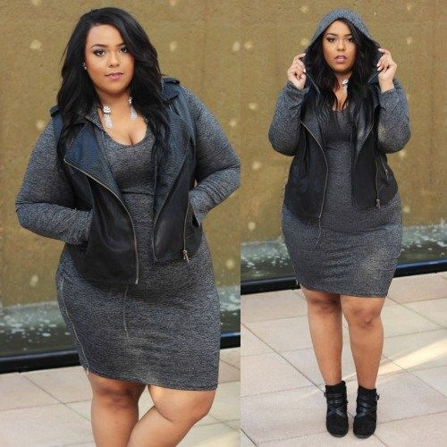 eaee8236193 CHUBBY-SWAG-44 Swag Outfits for Chubby ladies-18 Plus Size Swag Styles