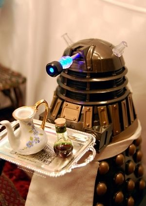 I got As British as a Dalek serving afternoon tea! How British Are You?