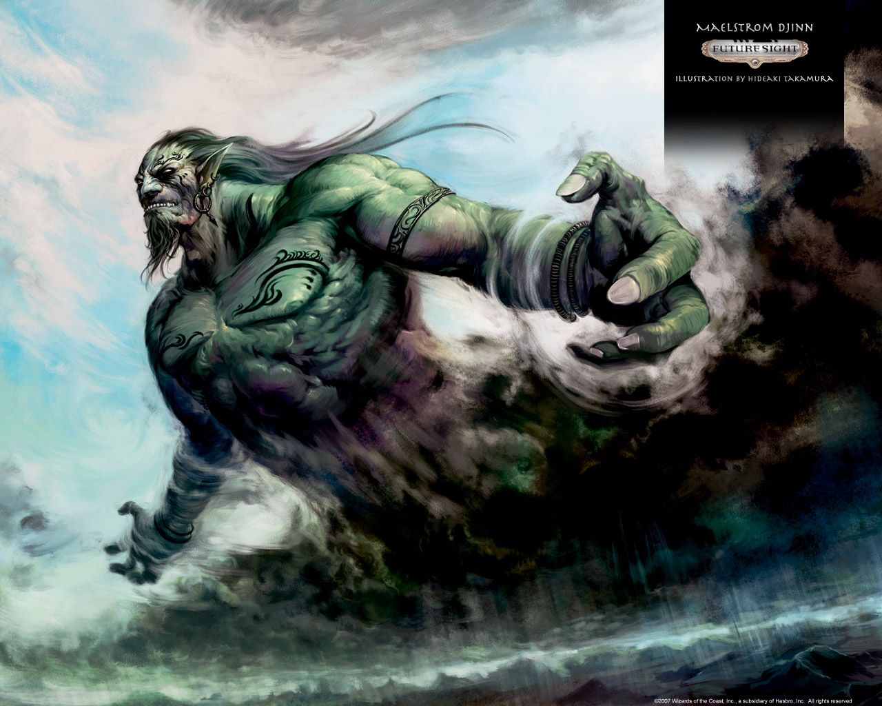 Maelstrom Djinn #comic #book #art #wallpaper | The Art Of Comics in