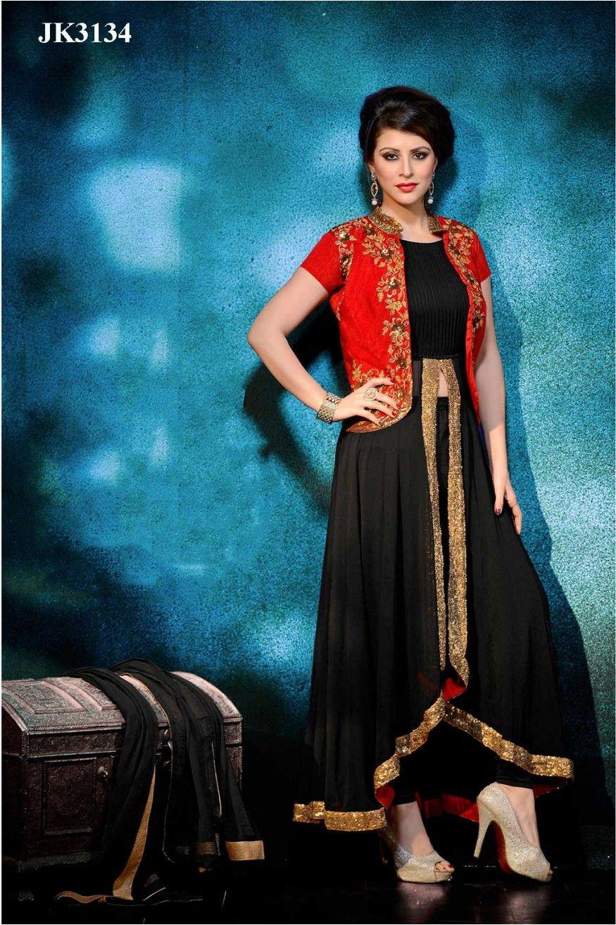 designer kurtis with short jacket - Google Search | dress ...