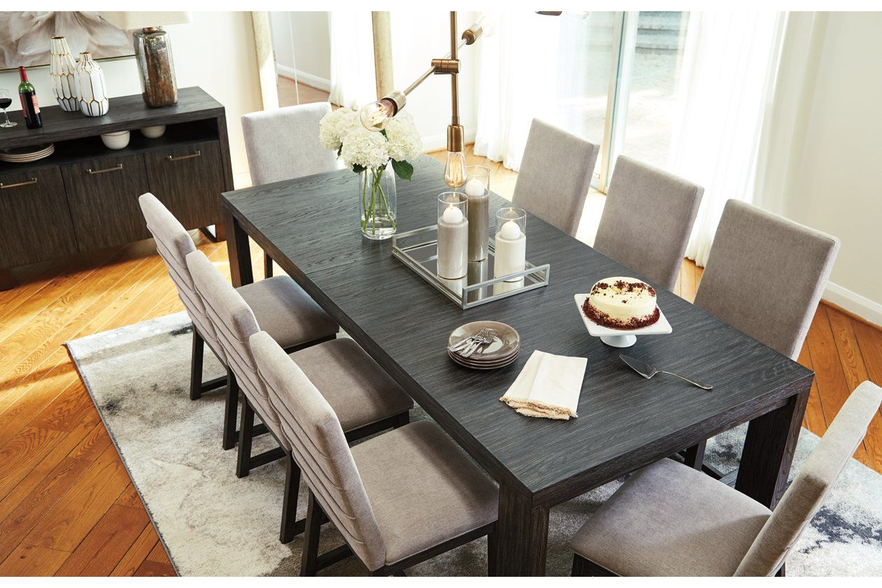 Bellvern Dining Table Ashley Furniture Homestore In 2021 Grey Dining Tables Dining Table In Kitchen Wood Dining Room Table
