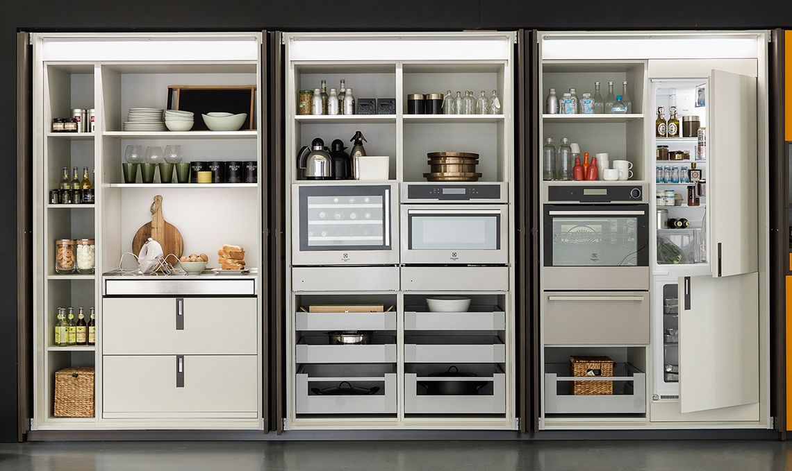 L'armadio multitasking per la cucina   Cucine, Arredamento ...