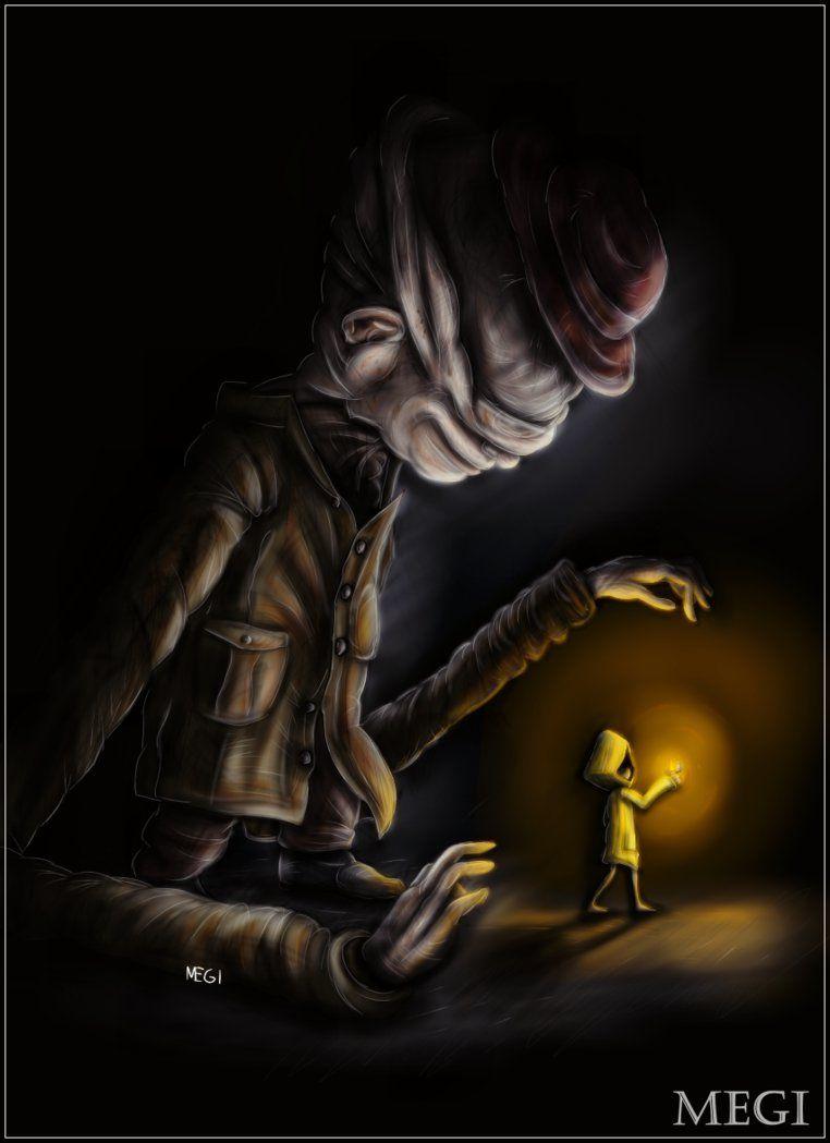 Little Nightmares By 5megi5 Little Nightmares Fanart Nightmare Nightmares Art