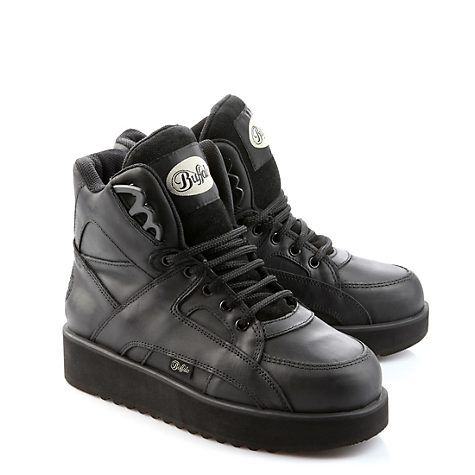 Buffalo Plateau Sneaker aus Leder | 90er Jahre | Buffalo