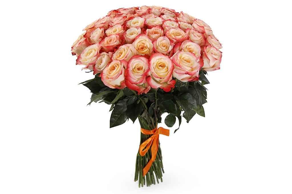 удивительный Букет 51 роза Кабаре  #Букеты #Оригинальныебукеты,Букет51розаКабаре