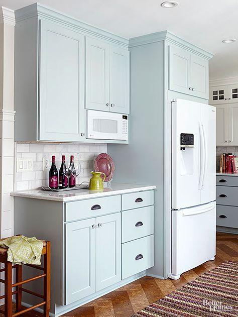 Charming Cottage Kitchen Makeover White Kitchen Appliances Kitchen Renovation Kitchen Makeover