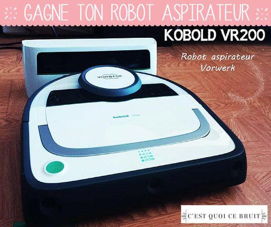 Un robot aspirateur Kobold à gagner