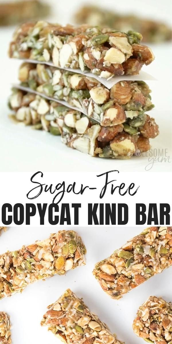 The Best Sugar-Free Low Carb Granola Bars Recipe - Kind Bar Copycat - Want to know how to make homemade Kind Bars? Try this Kind Bar recipe copycat. They're the easiest low carb, gluten-free, sugar-free granola bars ever. #wholesomeyum #lowcarb #keto #granolabars #snackrecipes #breakfastrecipes #lowcarbrecipes #ketorecipes #healthyrecipes