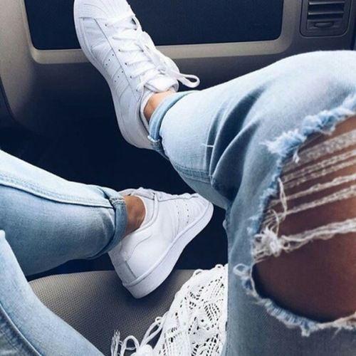 Imagem de fashion, jeans, and adidas