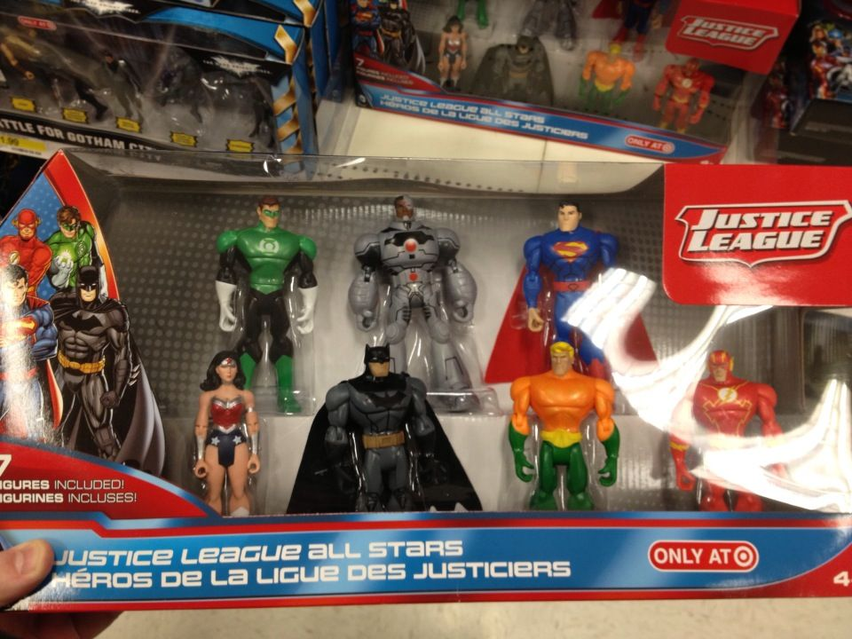 Justice League Toys Bring New 52 Look To Target Stores Justice League Toys New 52 Justice League
