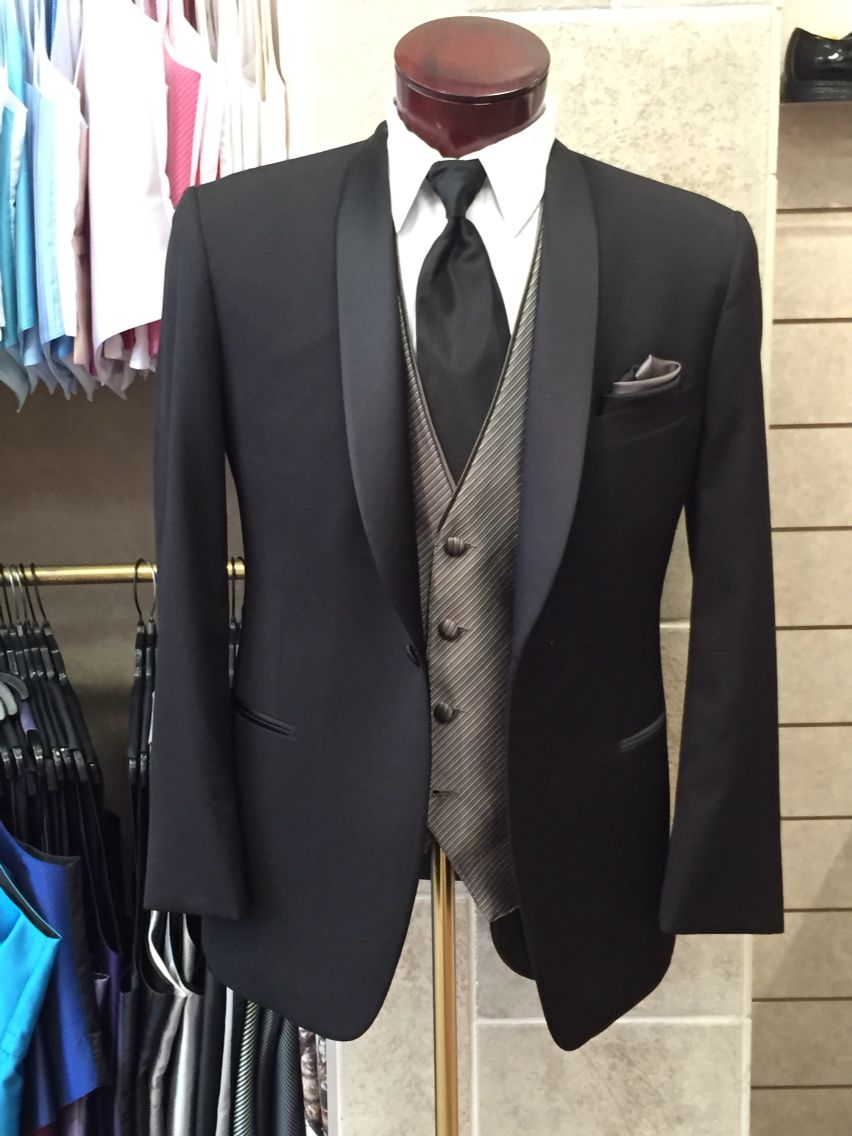 Topic 21 Father Of The Bride Attire With A Light Silver Vest Underneath