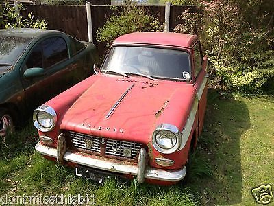 1965 Triumph Herald 1200 Spares Or Repair Barn Find Restoration Project