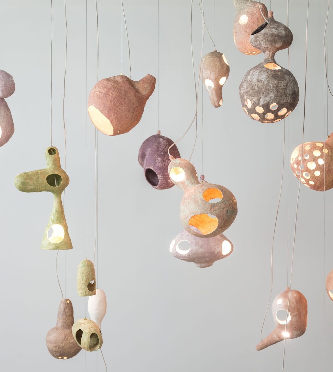 You See A Sheep Composition Of Lights Design Yuko Nishikawa 2019 Ynishikawa Homes In Space With An O Keramik Lampen Coole Beleuchtung Lampenschirm Gestell
