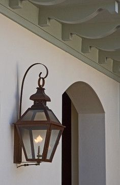 Gas Sconce Idea Shown On British West Indies Style Residence British West Indies Style British Colonial Decor