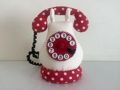 Telefone em patchwork da Amellie - Amellie Bonecas e Patchwork