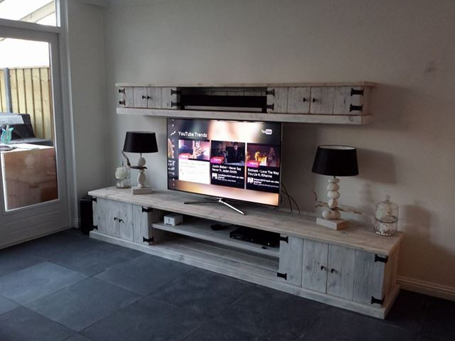 Steigerhouten Meubels Friesland : Steigerhoutfryslan uit rottevalle friesland maakt tv audio meubels