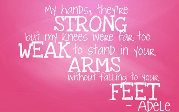 Adele Lyrics Con Imagenes Citas De Poesia Frases De Adele Citas