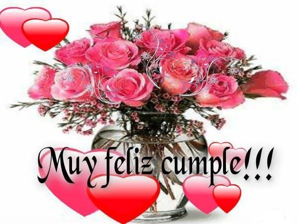 Felicitaciones De Cumpleaños Con Flores: 19 Tarjetas De Cumpleaños Con Flores